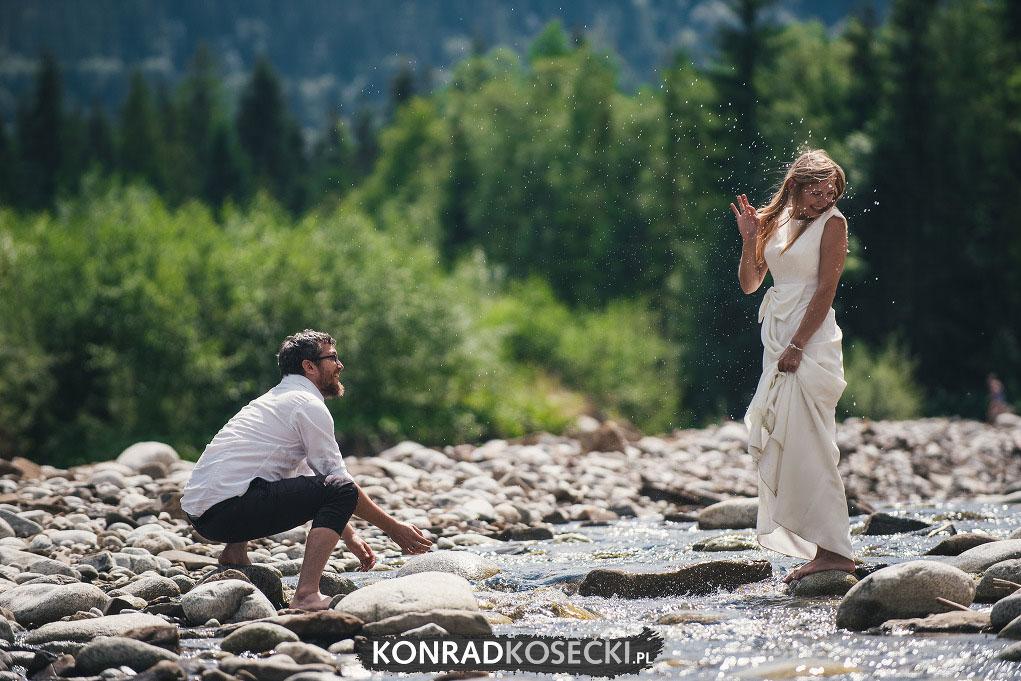 sesja ślubna Tatry