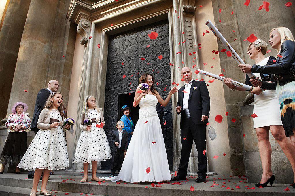 ślub kościół św.Anny kraków
